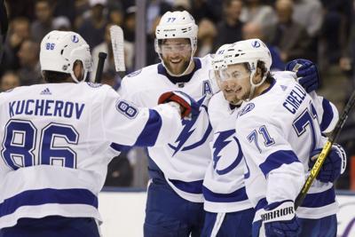 Lightning Maple Leafs Hockey