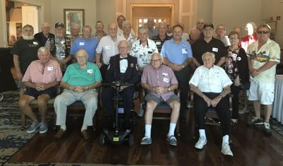 Financial adviser treat veterans to lunch, presentation