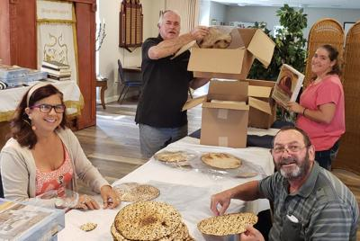 Matzah is an important part of the Jewish Passover service