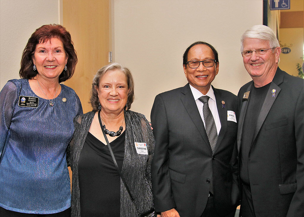 Rotarians applaud work done locally and around the world