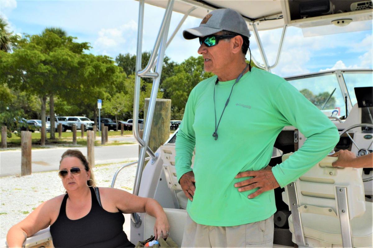 Tiki bar hopping with Island Time Charters
