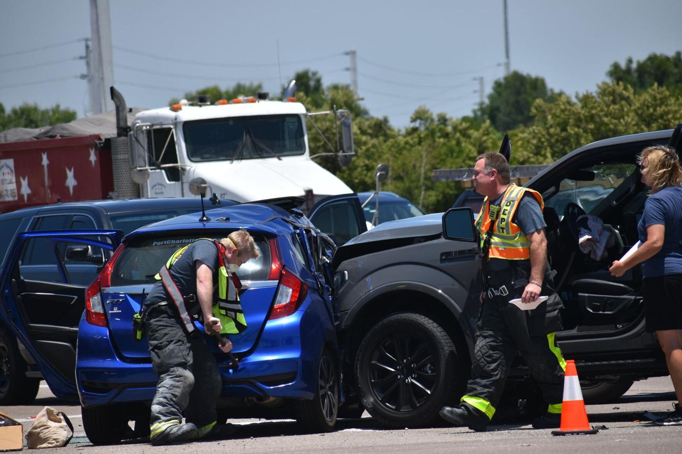 Wreck at Honore Avenue and Laurel Road