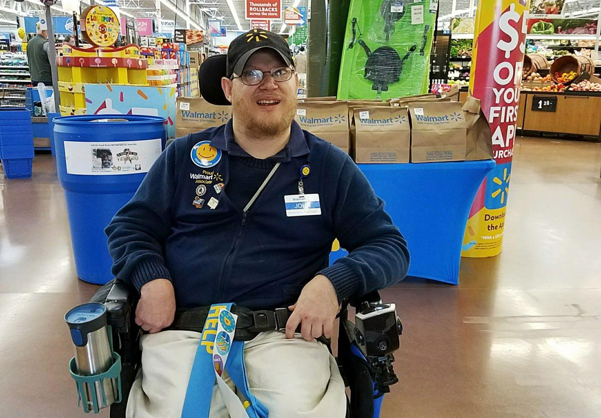 Walmart Disabled Greeters