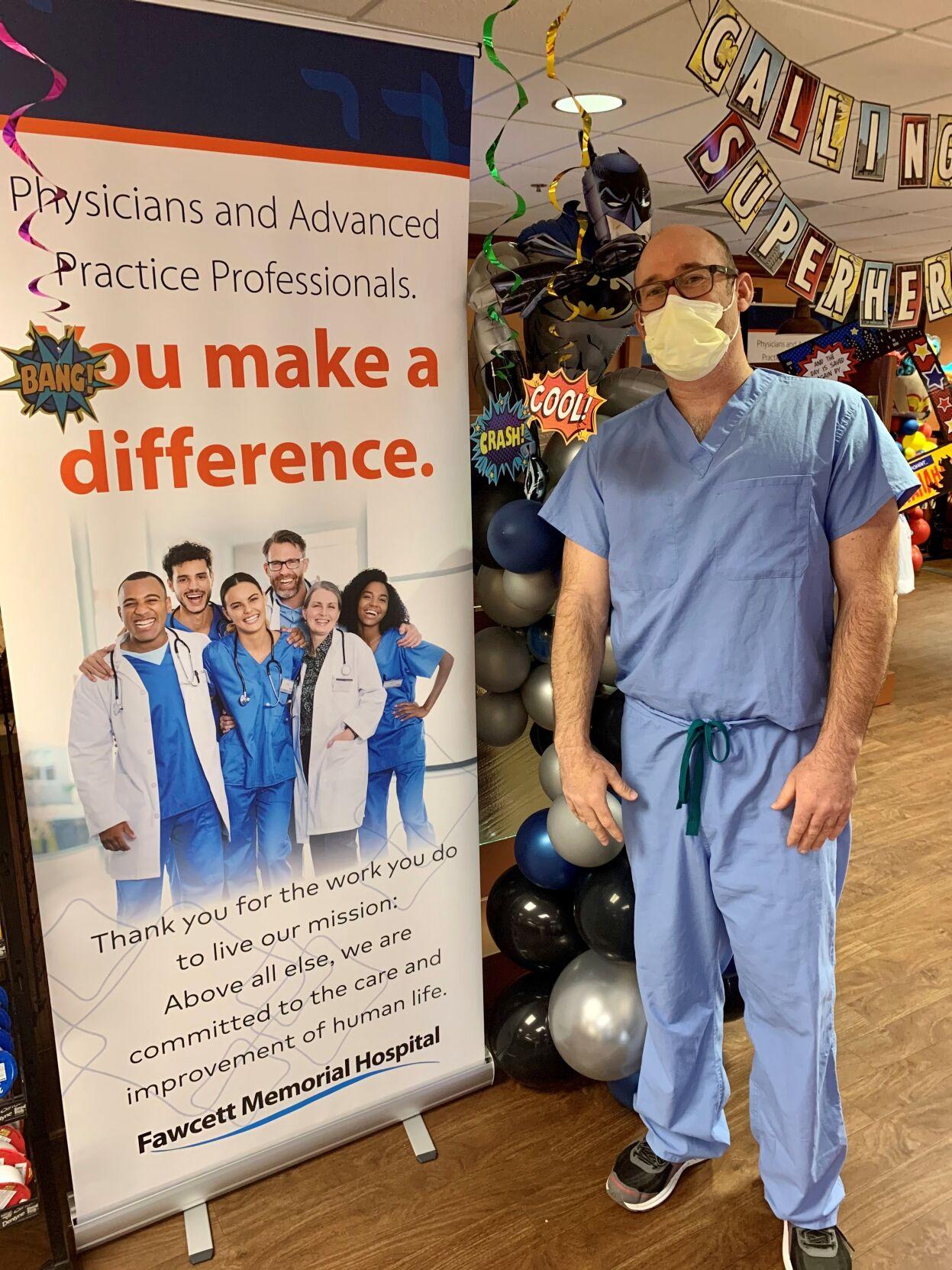 Fawcett Memorial Hospital celebrates Doctors' Day