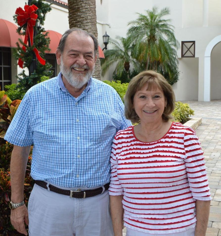 Bob and Sue Hebert
