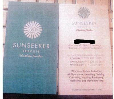 Sunseeker card