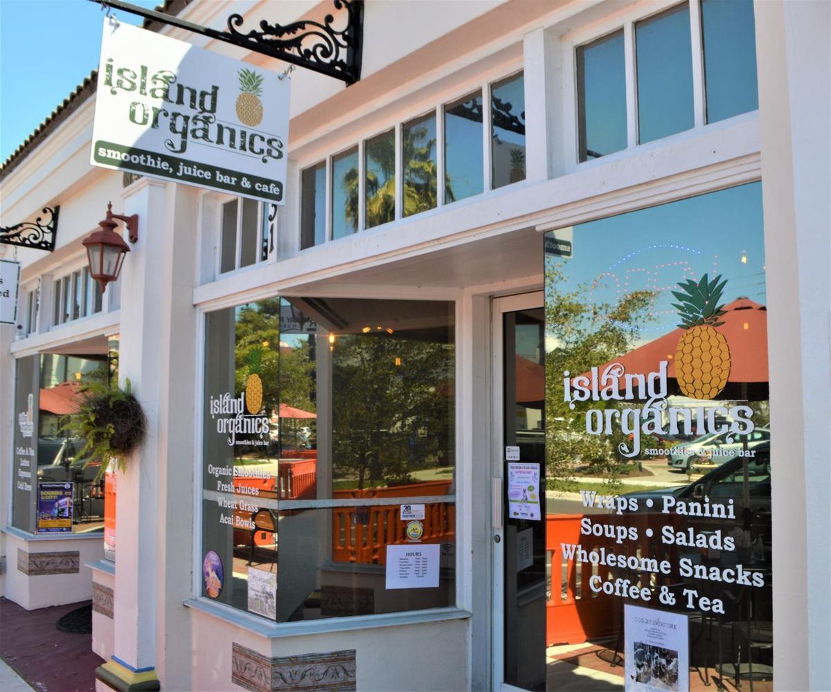 Island Organics offers  fresh, healthy, quick food