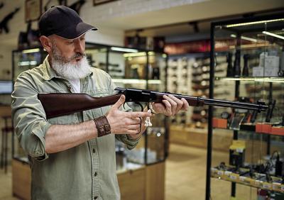 rifle shopping