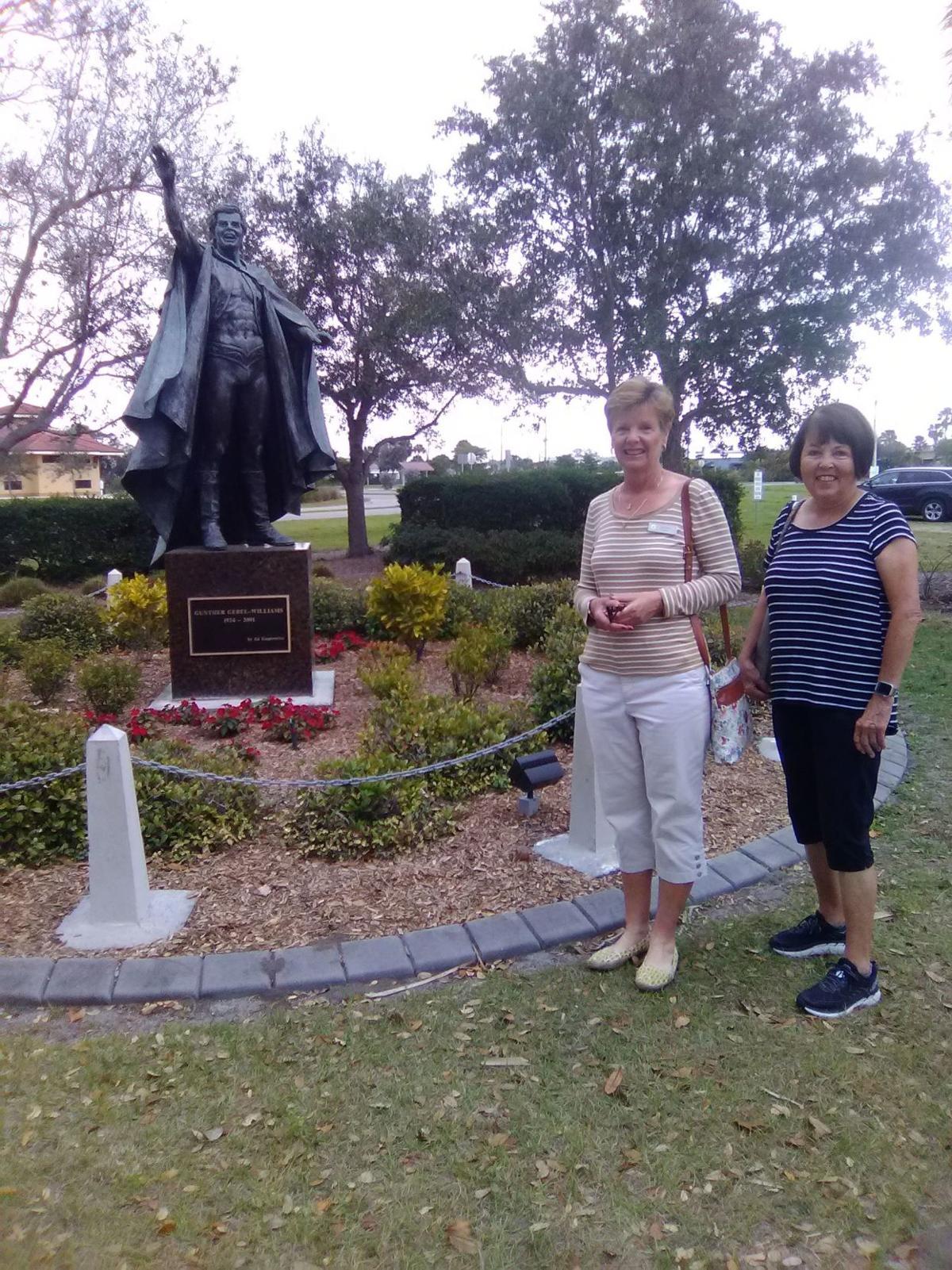 Pelican Pointe Garden Club continues to maintain circus star's memorial garden