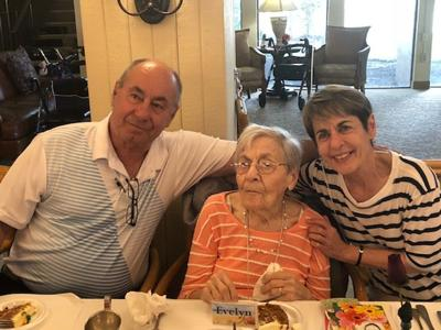 River Commons Resident turns 102