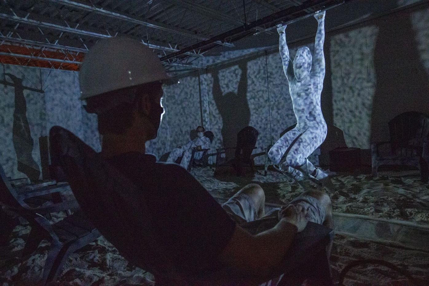 Choreographer turns pandemic lockdown into a live-action video game