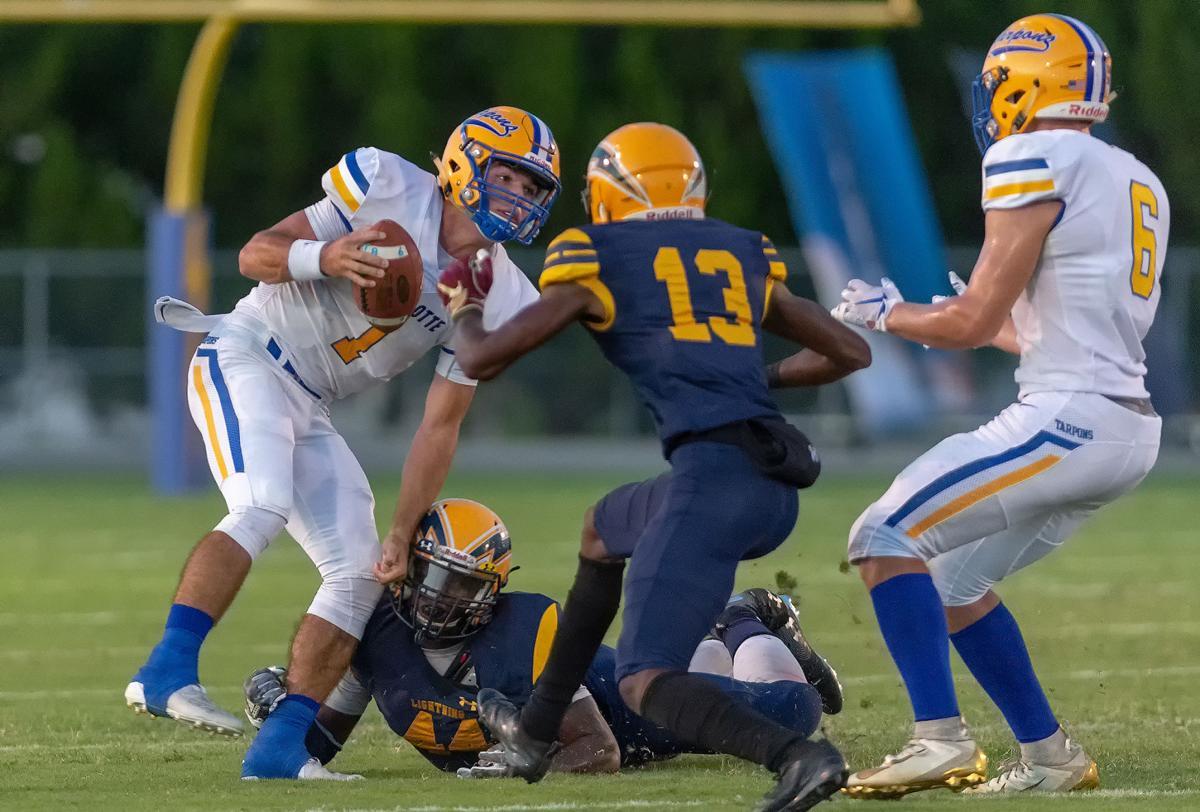 Charlotte High School vs Lehigh High School Football