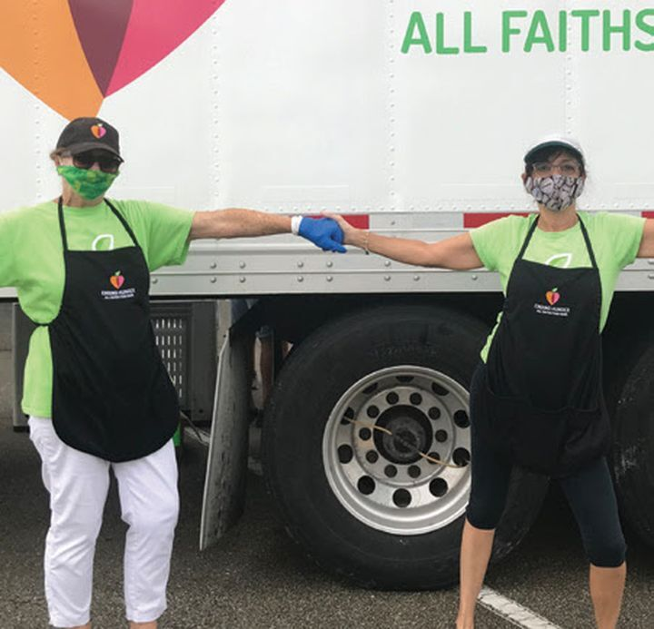 Give thanks for All Faiths Food Bank
