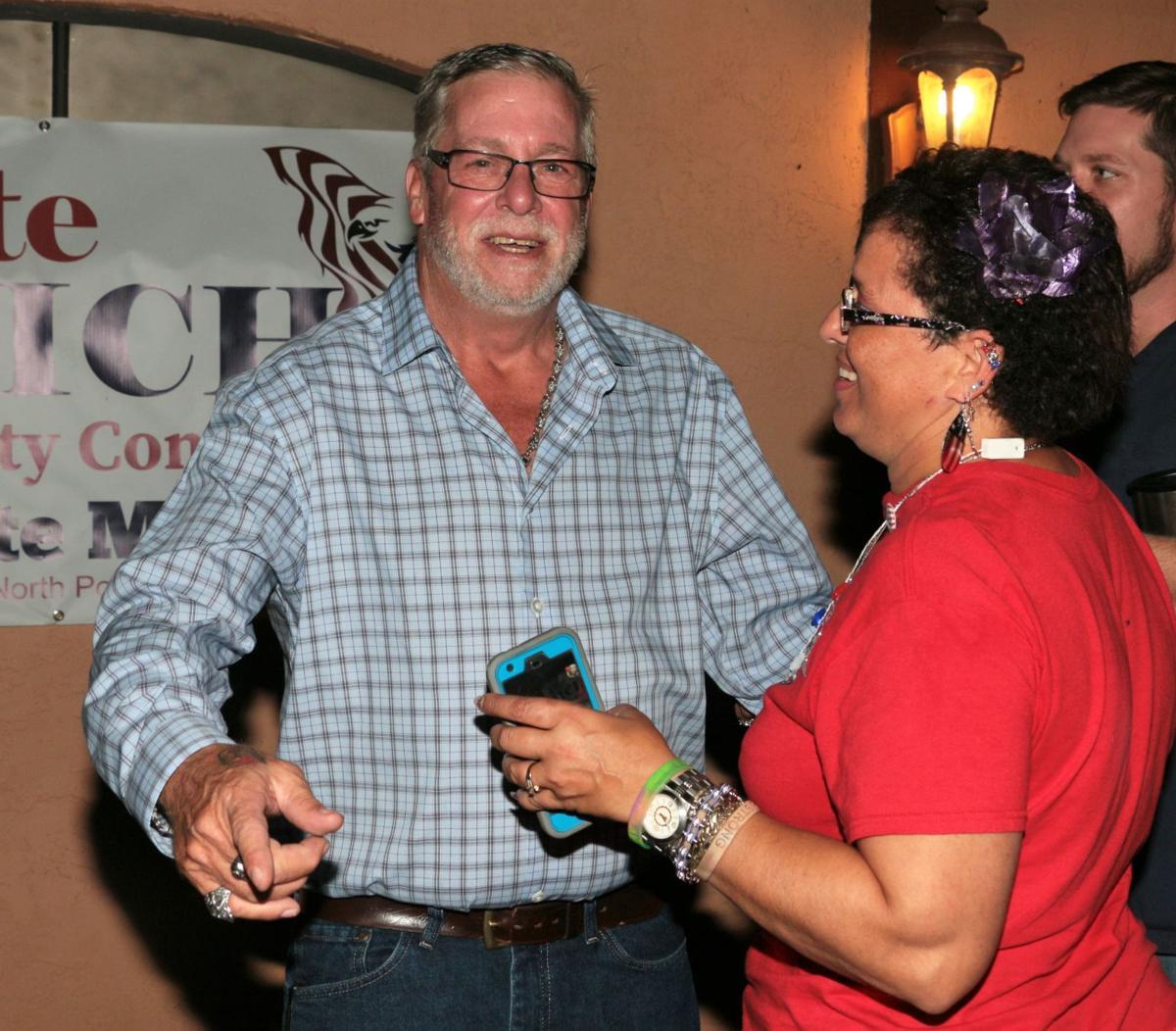 Pete Emrich and Elaine Allen-Emrich
