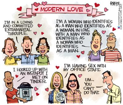 Katie Hill by Rick McKee, Counterpoint