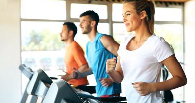 Relax and run more naturally on a treadmill