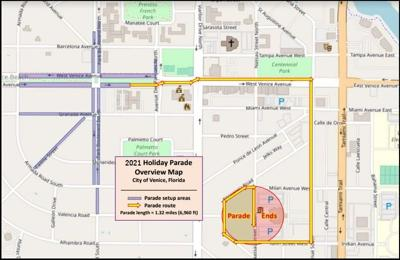 Holiday Parade Route 2021