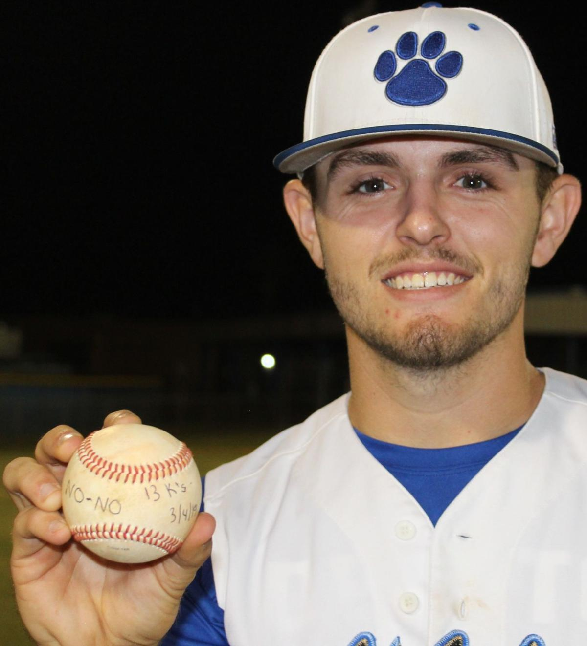 Steele untouchable in no-hitter over Mustangs