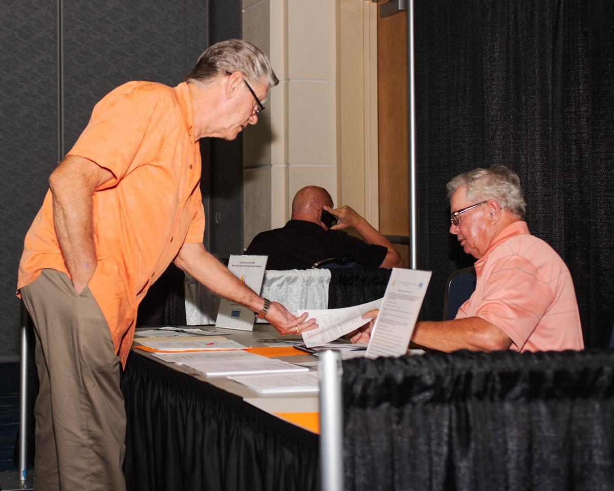 Gary Folsom, 68, asking for job advice