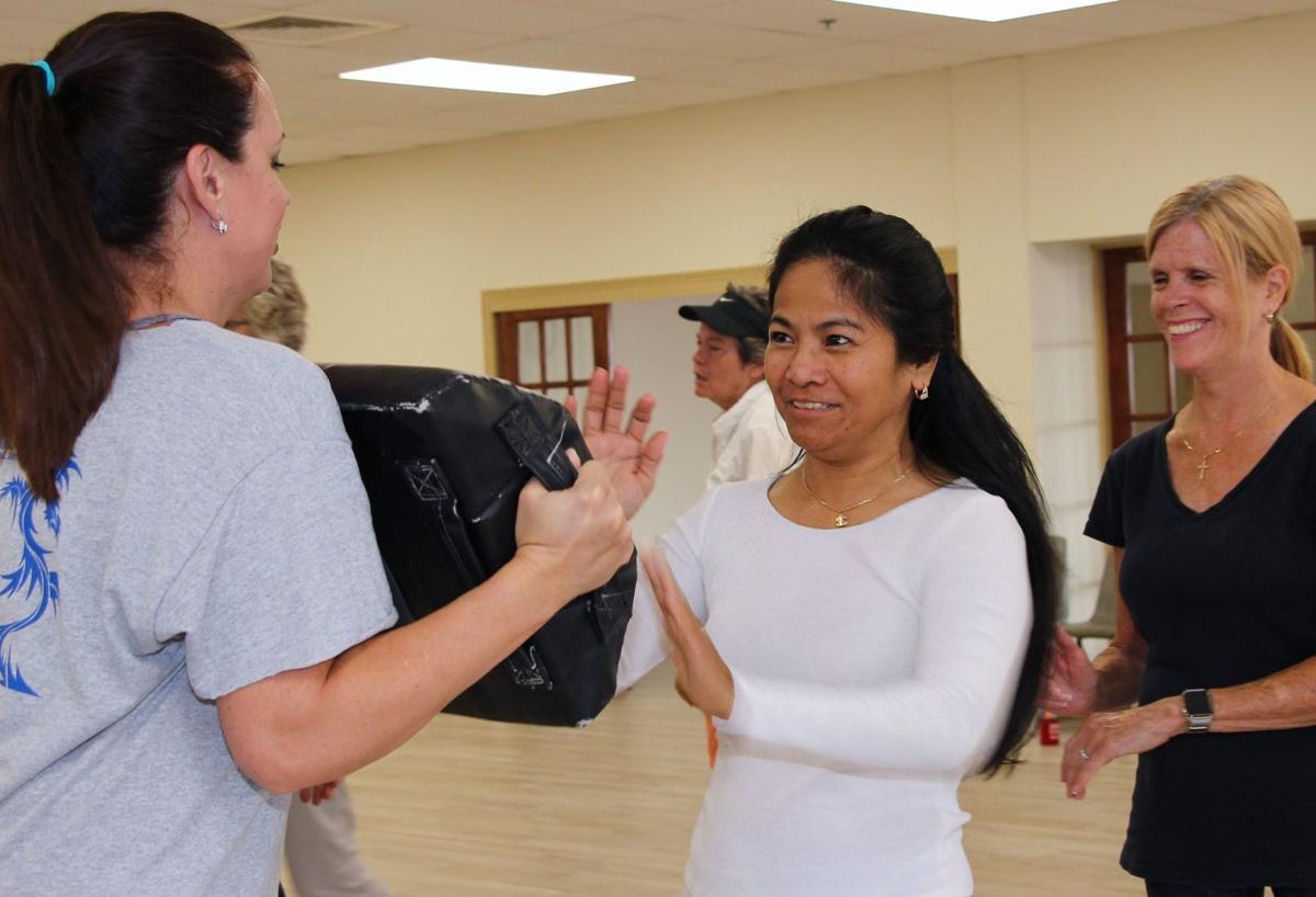 Local women learn self-defense strategies