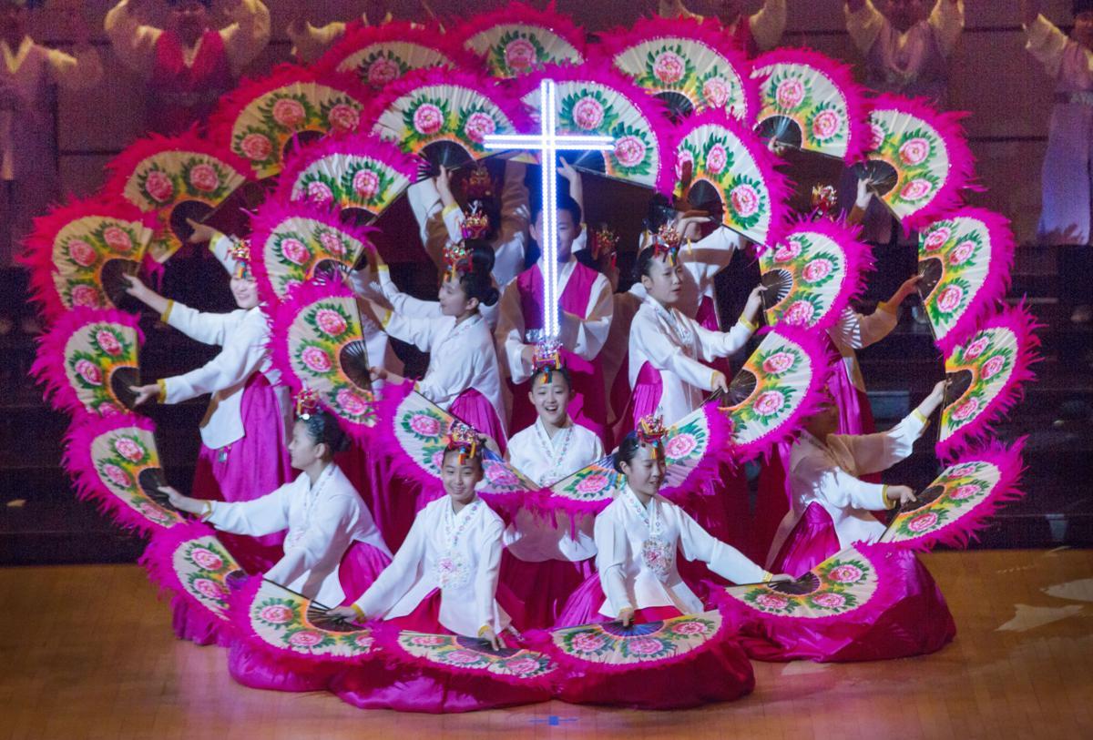South Korean Children's Choir in concert at Christ United Methodist Church