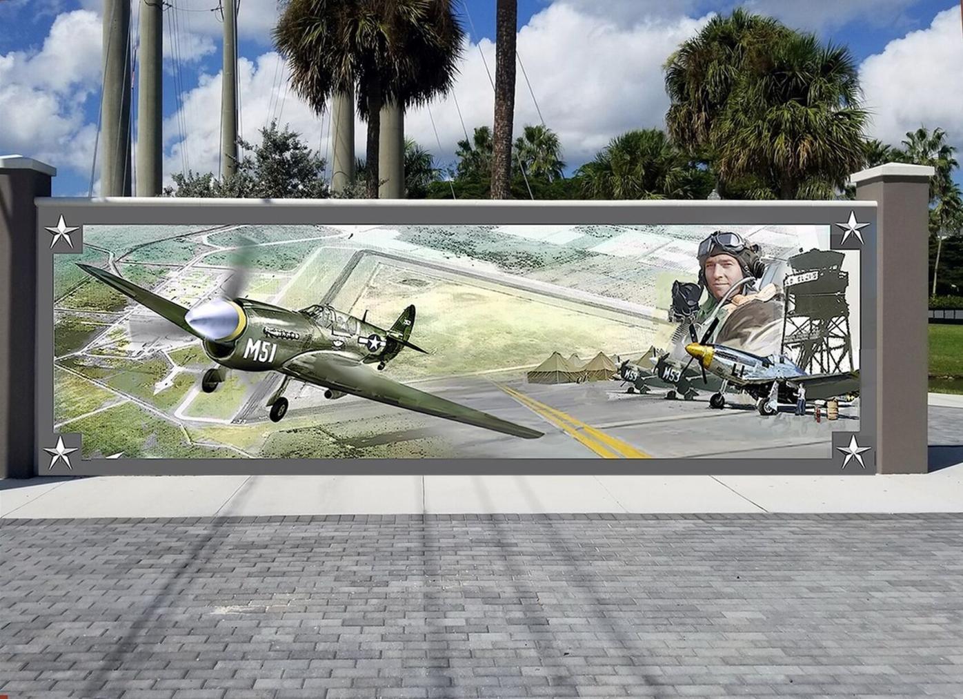 Proposed mural for Punta Gorda