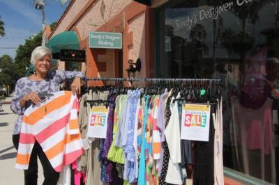 Sidewalk Sale this weekend