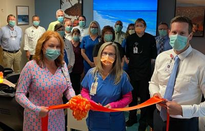 Relaxation Room Ribbon Cutting