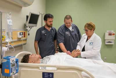 State College of Florida nursing students