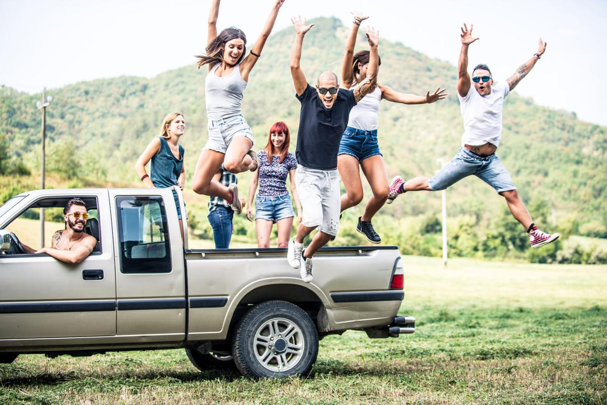 Pickup trucks essential to happiness