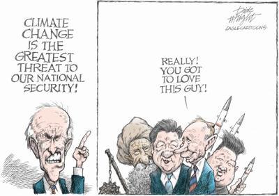 Biden Climate Change Threat