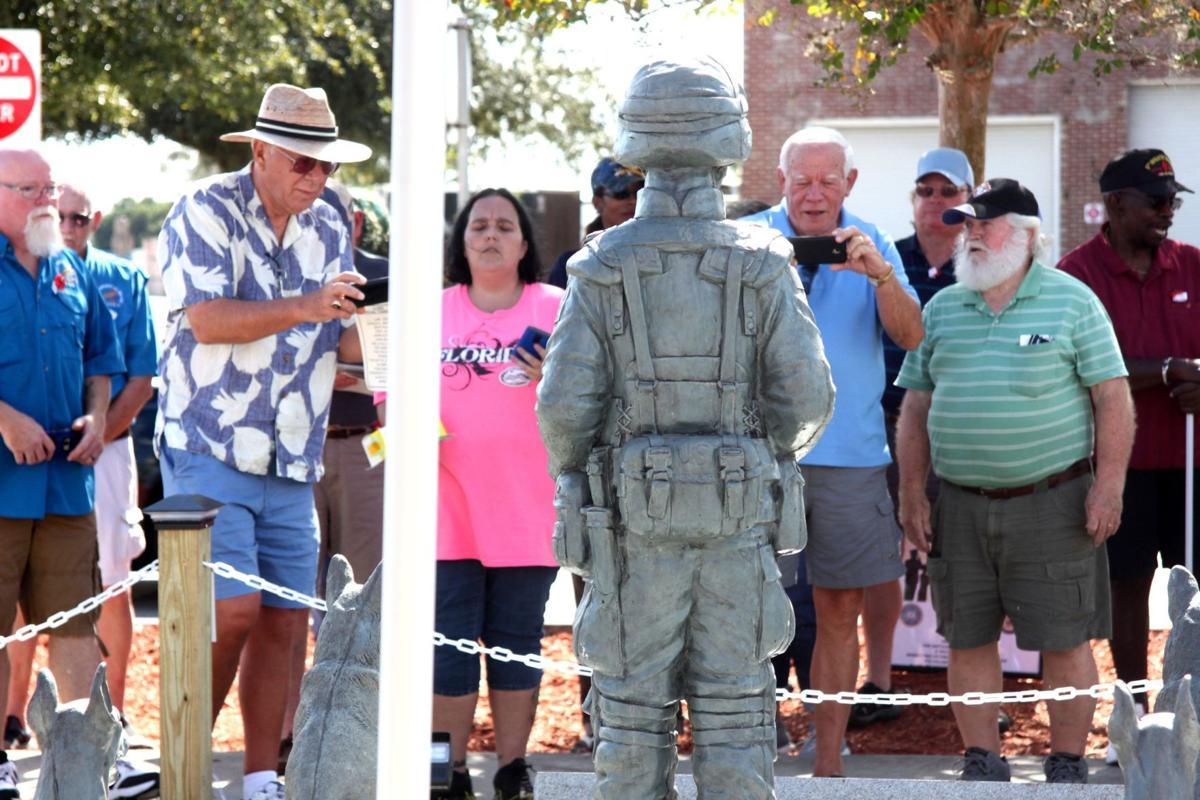 War Dog Memorial Unveiling