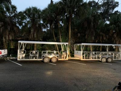 Child, 3, run over by trolley at Myakka River State Park