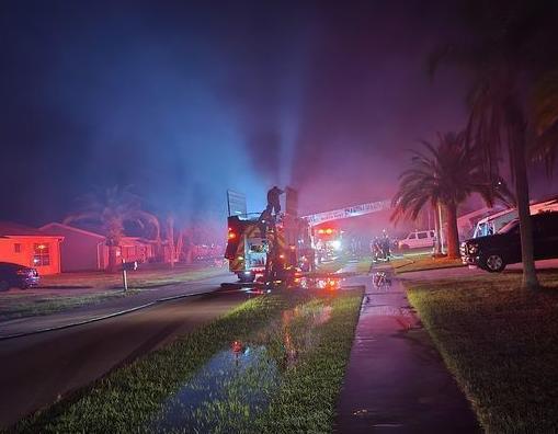 North Port house fire under investigation where body was found