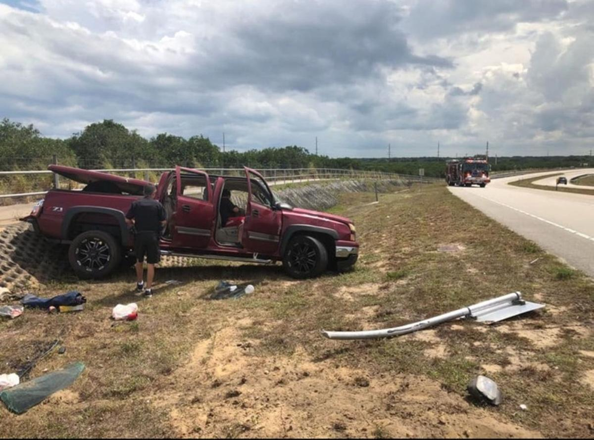 Rollover on Sebring Parkway