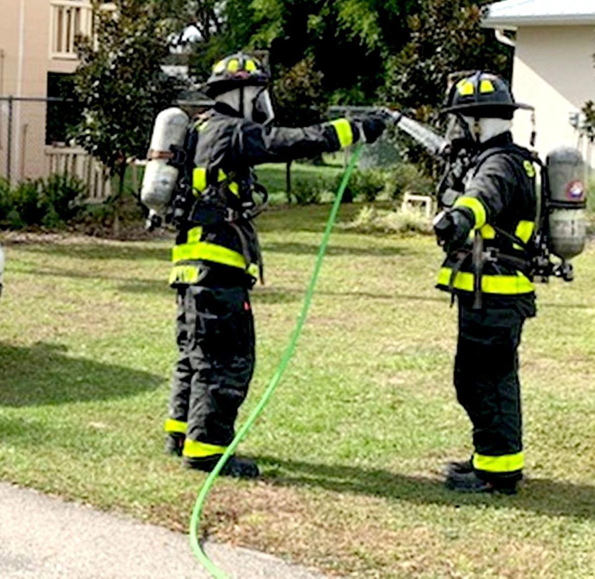 Sebring Fire decontamination