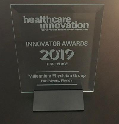 Millennium Physician Group named 'Innovator of the Year'