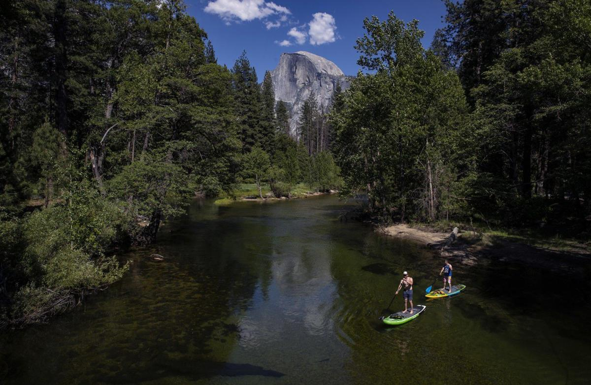 'Feeling great, beautiful day!' Yosemite National Park reopens with changes