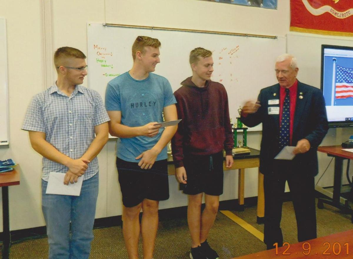 Cadets honored