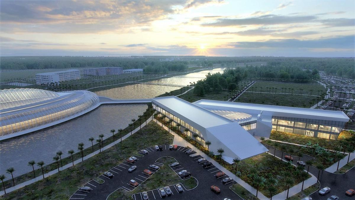 Florida Poly - Applied Research Center rendering