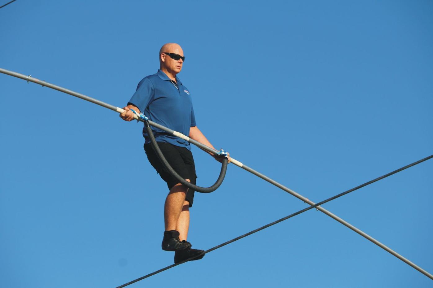 Wallenda - 'Highwire Live' training (copy)