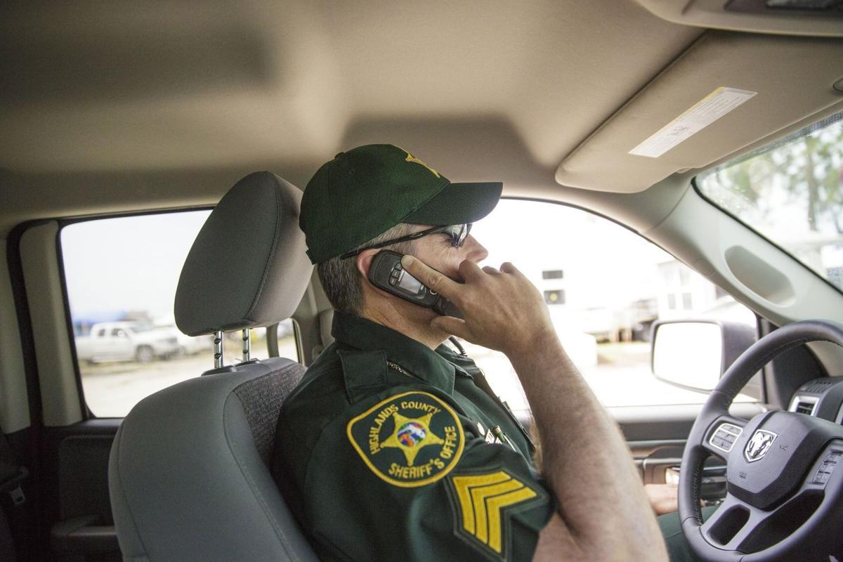 Sgt. Dave Stewart patroling Green Park