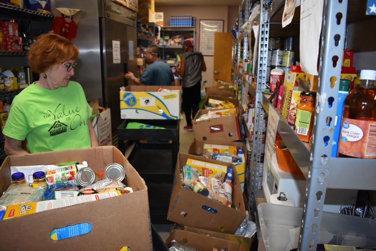 Homeless Coalition Food Pantry