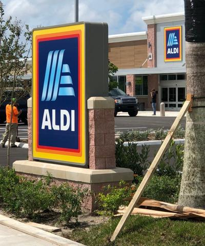 Aldi from parking lot