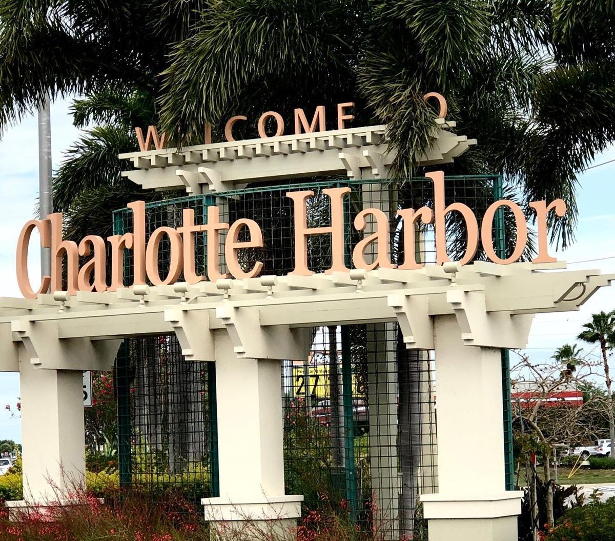 Charlotte Harbor sign