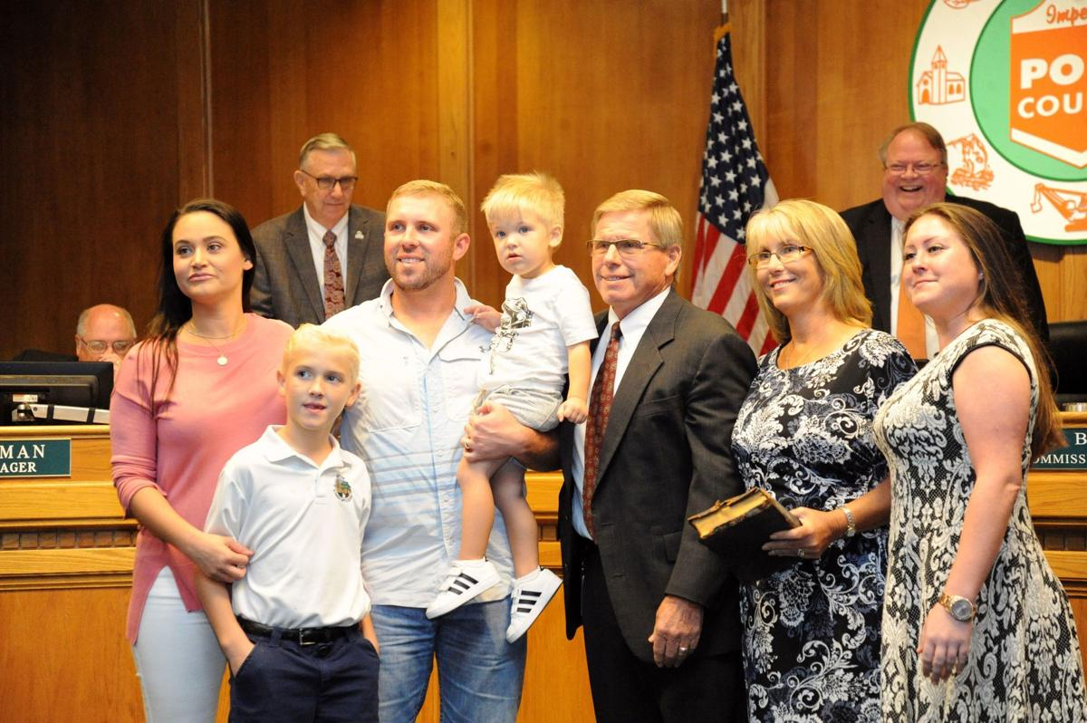 Commissioner Wilson sworn in early after Bell resigns