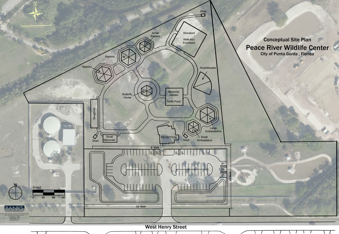 Layout of PRWC new facility on West Henry Street