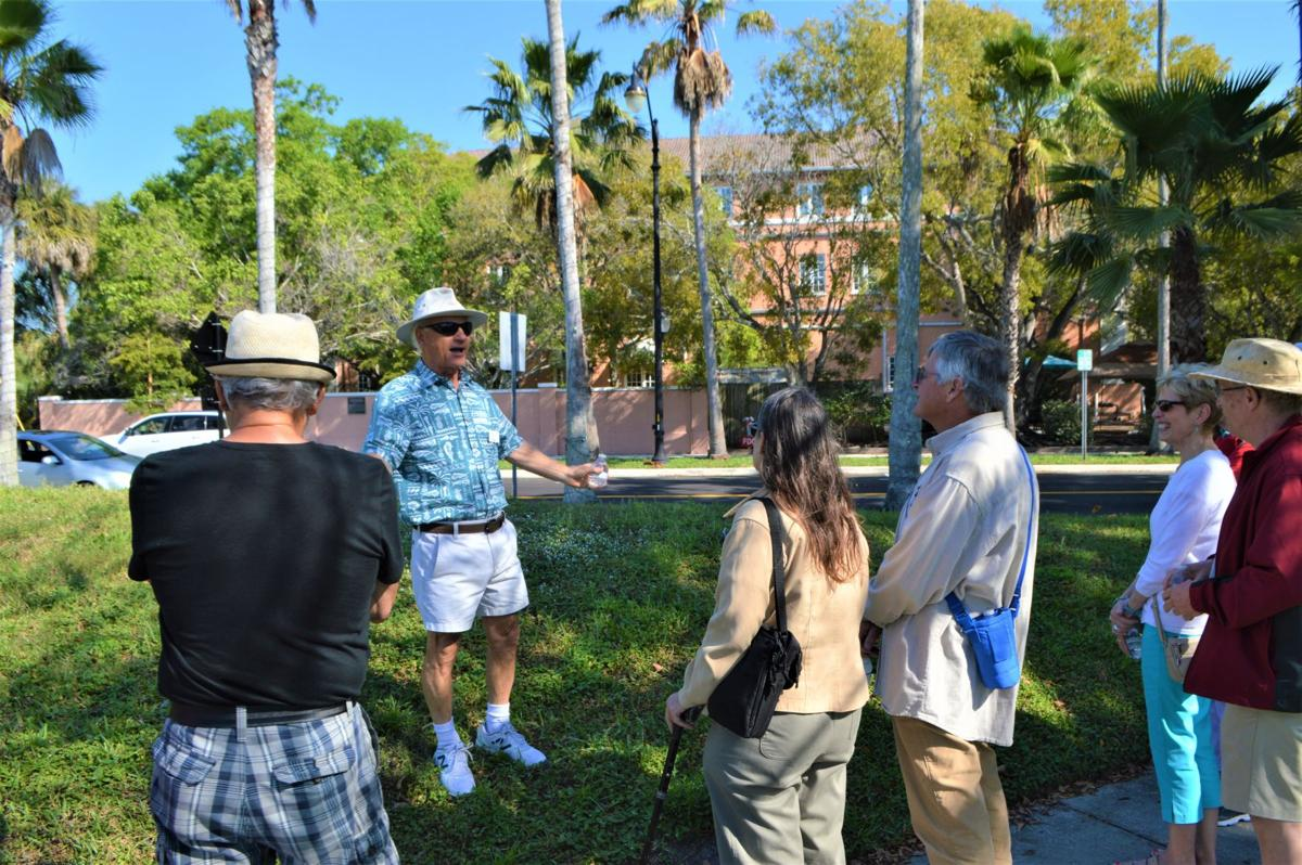 Going back in time on a Venice Grand Homes Walking Tour