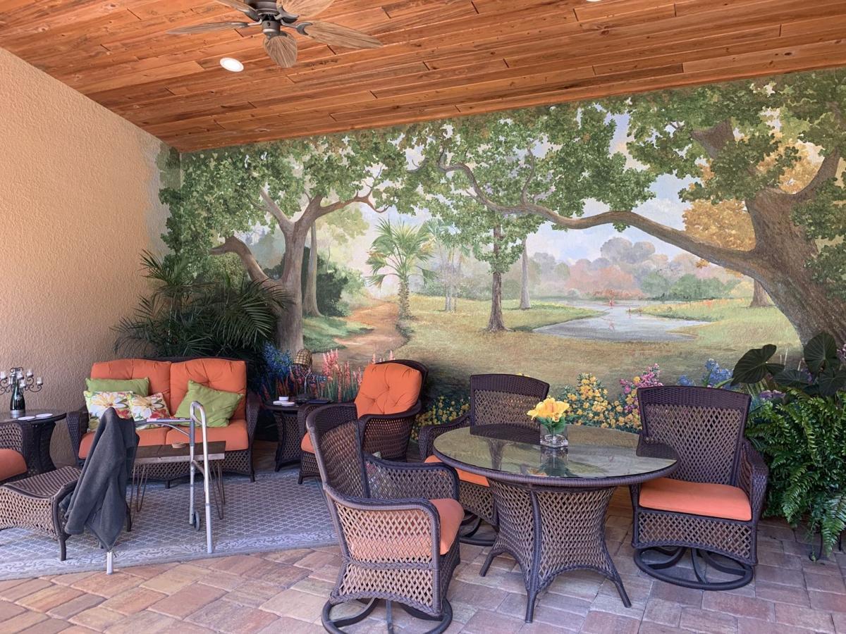 Mural brings outdoors in