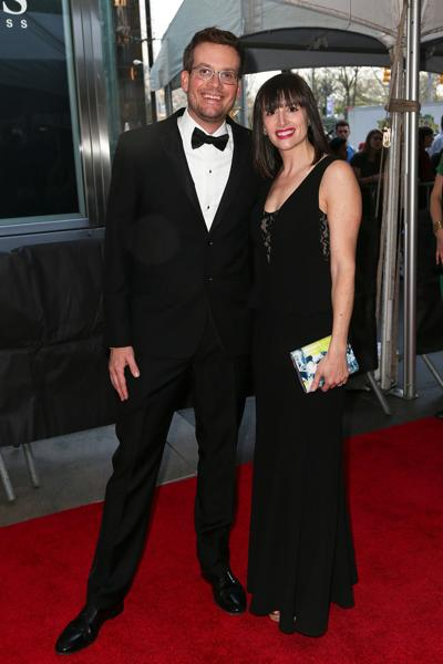 John Green and Sarah Urist